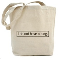 I do not have a blog